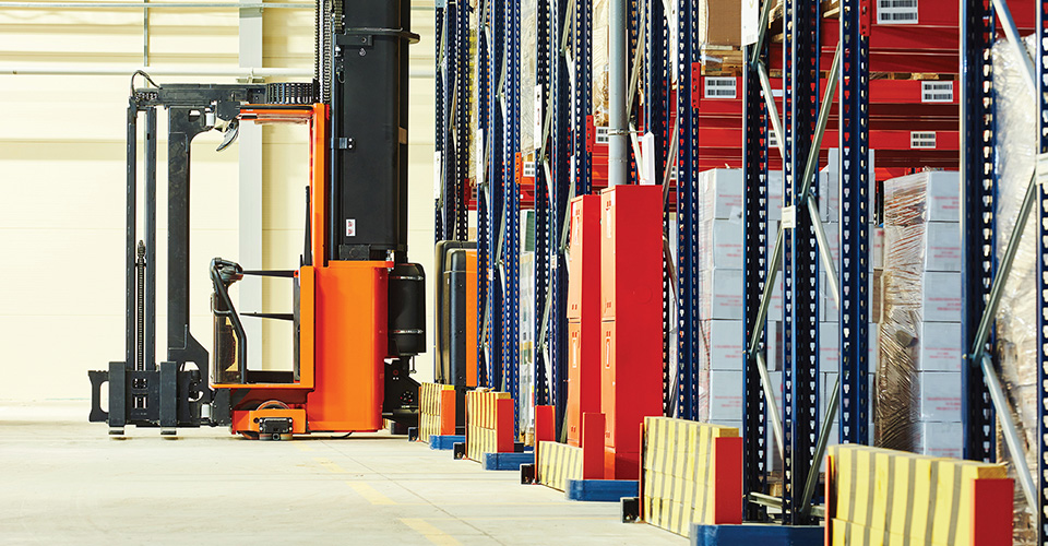 Warehouse organiser - Products